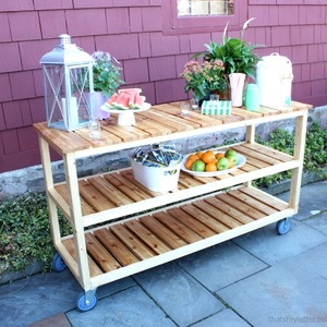 Photo: outdoor rolling console Project