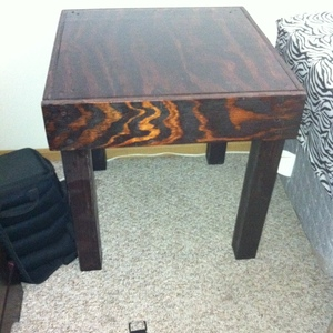 hidden drawer night stand
