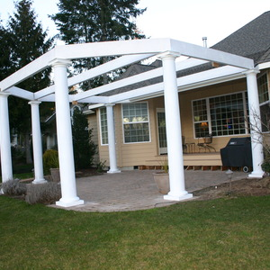 Tuscan Pergola Patio Cover