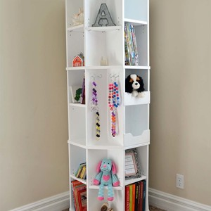 Photo: Octagon Rotating Bookshelf Project