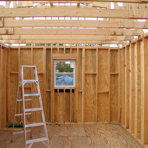 Hurricane Proof Gable Roof Shed