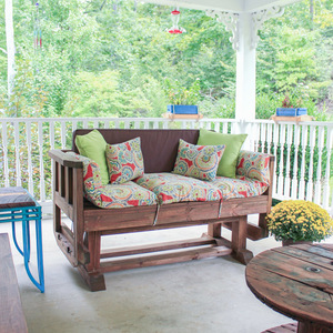 Outdoor Loveseat Glider Ryobi Nation Projects