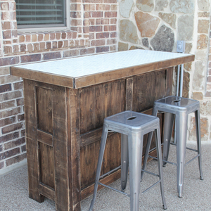Photo: DIY Tiled Bar Project