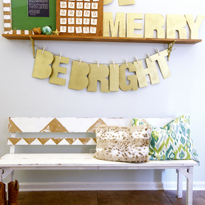 Photo: ENTRYWAY BENCH Project