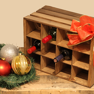 Photo: Wine Bottle Crate Project