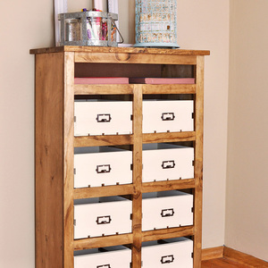 Photo: Crate Storage Unit Project