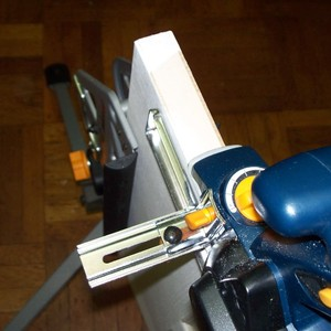How to use a router to install door hinges.