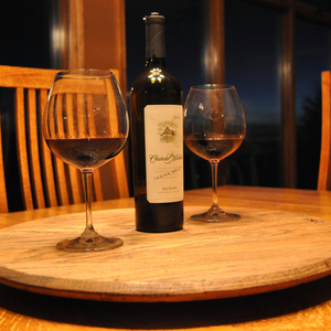 Photo: Whisky Barrel Lazy Susan Project