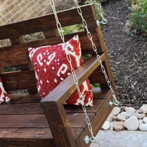 Ryobi nation projects for Shanty 2 chic porch swing