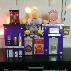 Tiered Scentsy Display