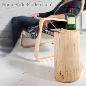 Photo: LOG END TABLE Project