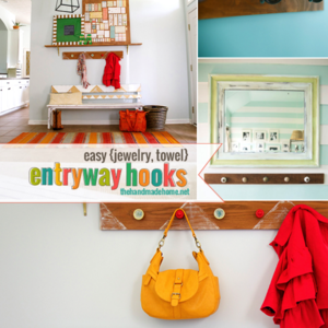 Photo: Entryway Hooks Project