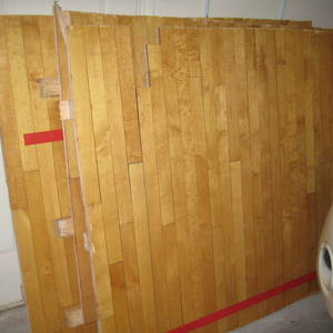 Basketball floor Dining Table