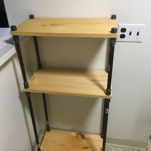 Simple Pipe And Board Shelving Ryobi Nation Projects