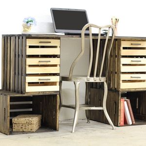 Photo: Crate Desk Project
