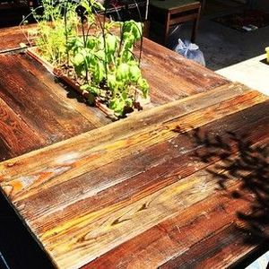 Planter Box Table