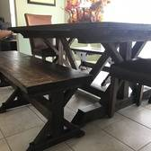 Kicthen Table And Matching Benches