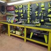 Ryobi Powered Work Shop