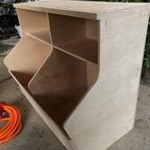 Toy Chest With Bookshelf