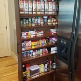Sliding Spice Rack