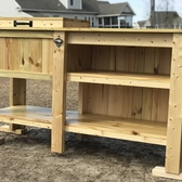 Outdoor Cooler With Shelf Space