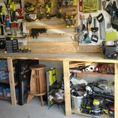 10 Foot Workbench With Tons Of Storage
