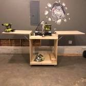 Miter Saw Work Table