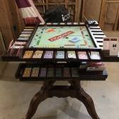 Custom Monopoly/Game Table