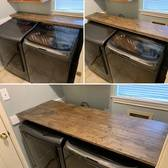 Slide Out Folding Laundry Table