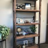 Industrial Cart Bookcase