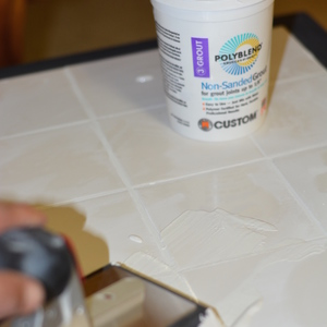 How To Tile A Small Table Top With Your Own Ceramic Tiles